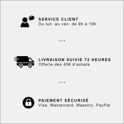 paiement / livraison / service client