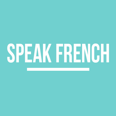 Collection speak French