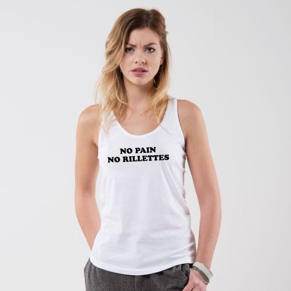 Débardeur No pain no rillettes - Femme