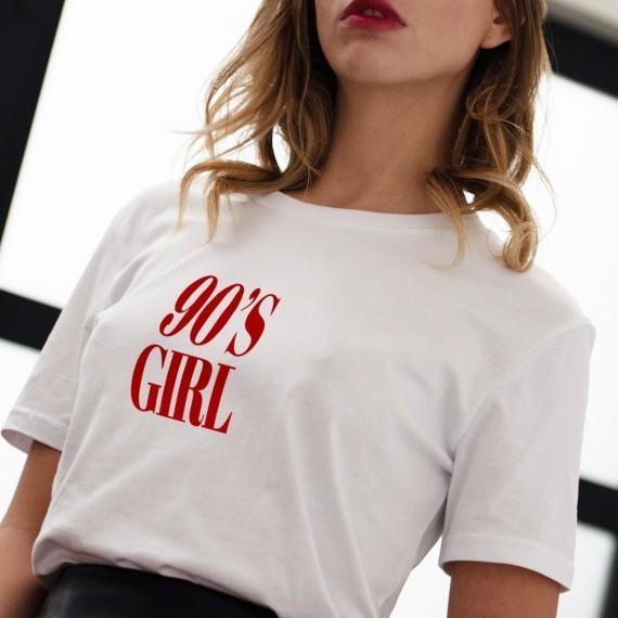 T-shirt 90'S GIRL - Femme