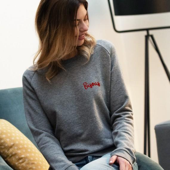 Sweatshirt Bisous - Femme