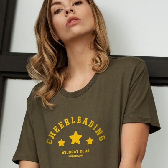 T-shirt Cheerleading - Femme
