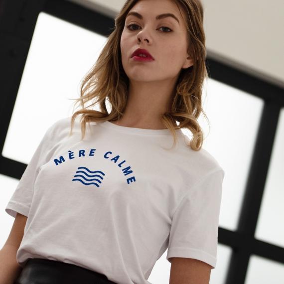 Tee-shirt Mère calme - Femme