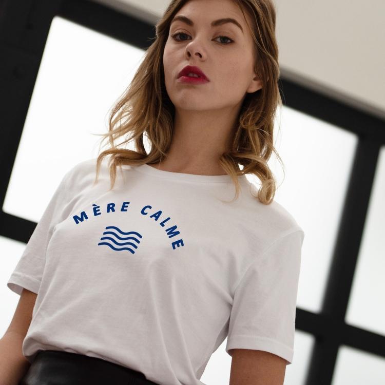 T-shirt Mère calme - Femme