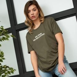Tee-shirt No pain no rillettes - Femme