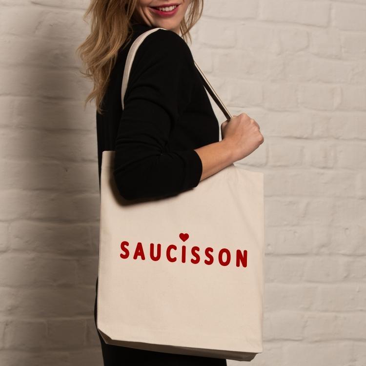 Sac coton - Saucisson