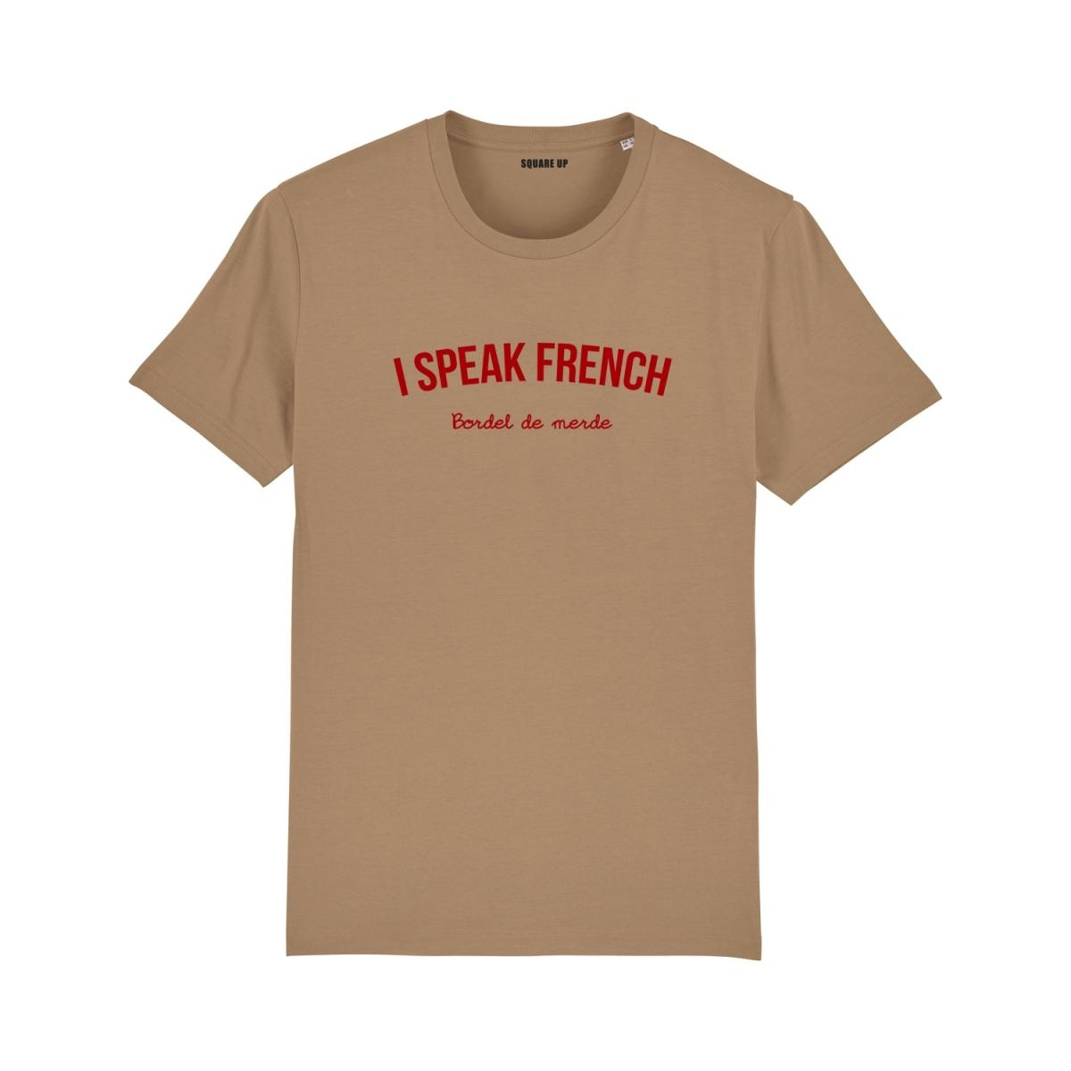 Tee-shirt à message I speak French Femme