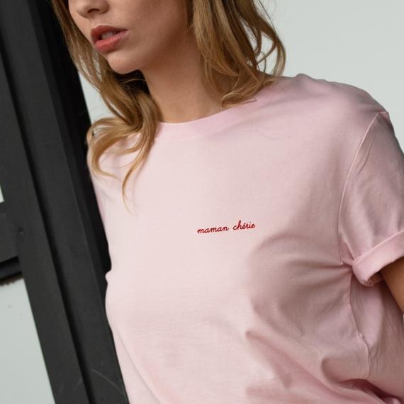 T-shirt Maman Chérie - Femme