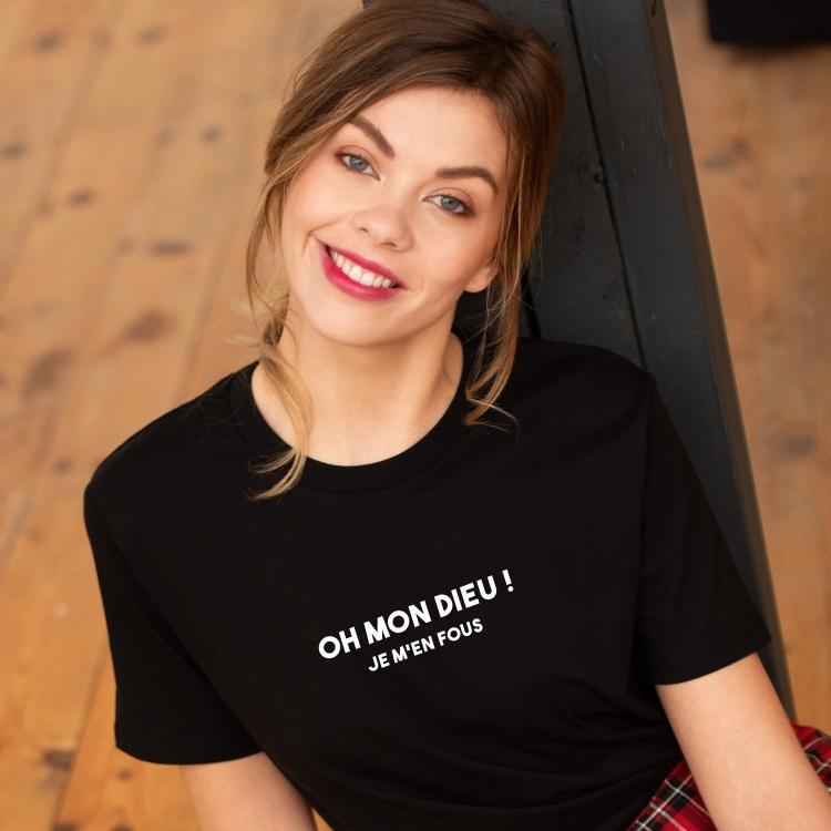 Tee-shirt Oh mon Dieu ! - Femme