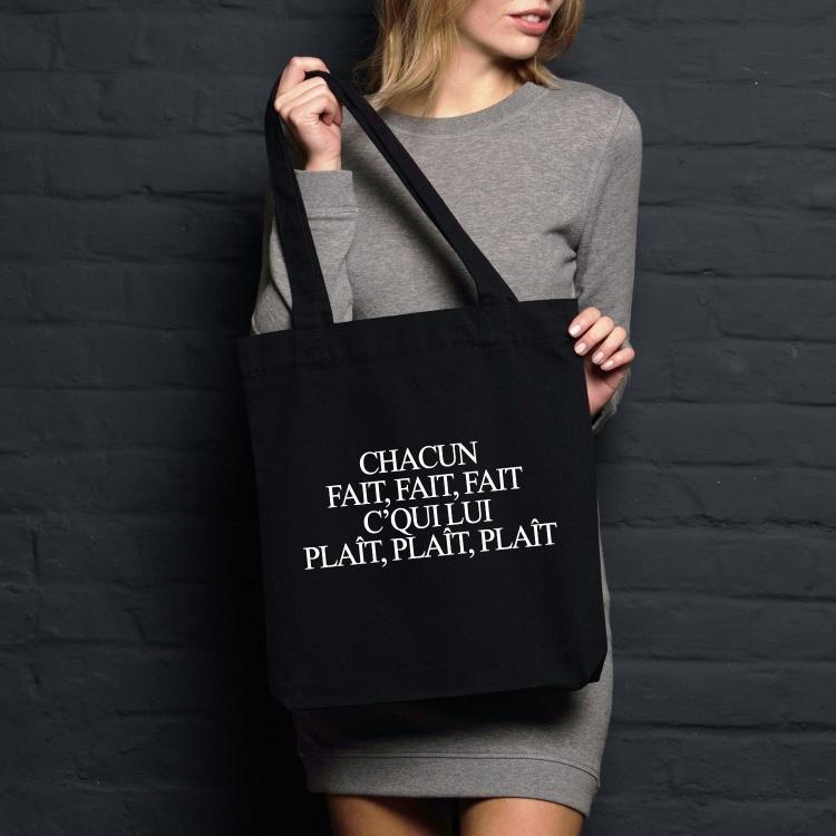 Shopping bag Chacun fait fait fait