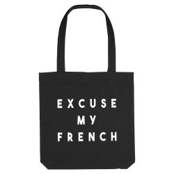 Sac coton - Excuse my french