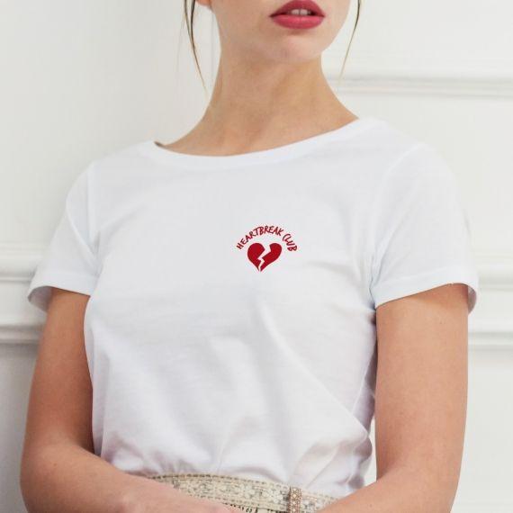 Edition Limitée - T-shirt Heartbreak club - Femme