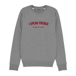 Sweat-shirt I speak French - Homme