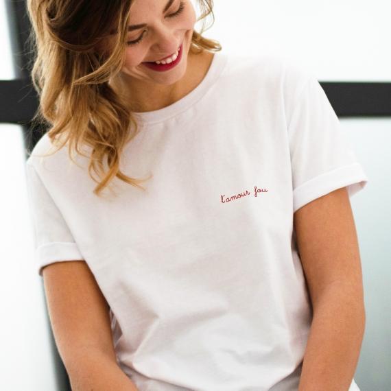 T-shirt L'amour fou - Femme