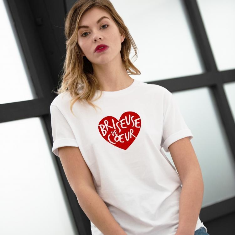 Tee-shirt Briseuse de cœur - Femme