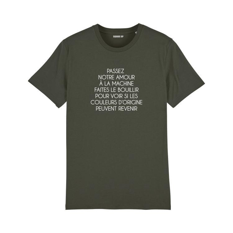 Tee-shirt L'amour à la machine - Homme