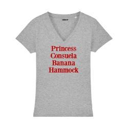 T-shirt col V - Princess Consuela Banana Hammock - Femme - 3