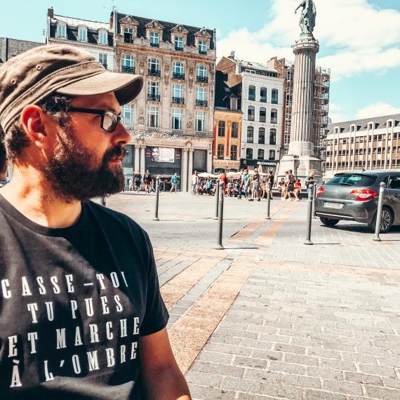 T-shirt Marche à l'ombre - Homme
