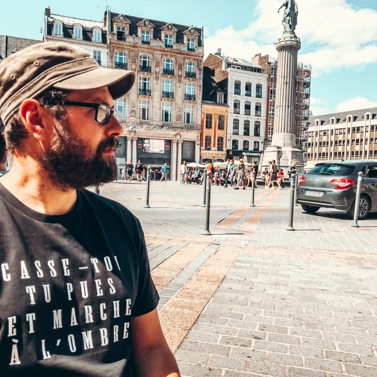 T-shirt Marche à l'ombre - Homme - 1