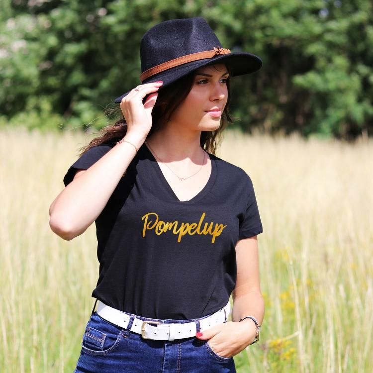Tee-shirt Pompelup - Femme