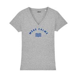 T-shirt col V - Mère Calme - Femme - 3