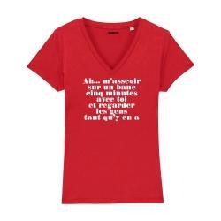 T-shirt col V - Mistral gagnant - Femme - 3