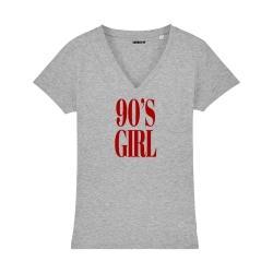 Tee-shirt 90's Girl - Femme
