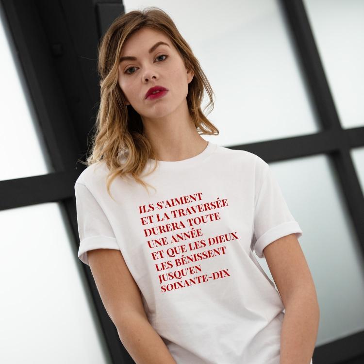 Tee-shirt 69 année érotique - Femme