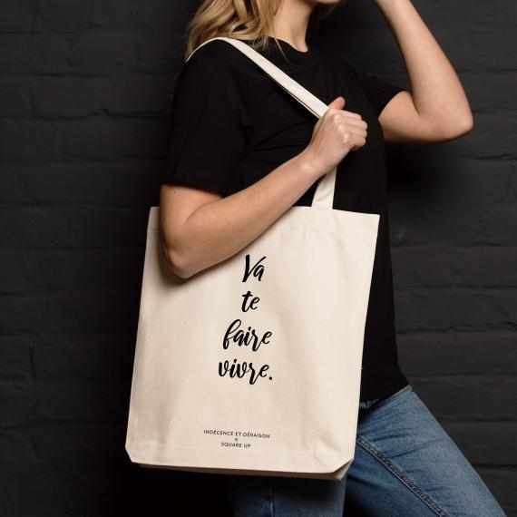 Shopping bag Va te faire vivre