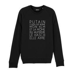 Sweatshirt Dans mon H.L.M - Homme - 2