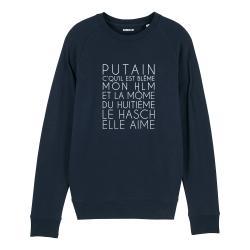 Sweatshirt Dans mon H.L.M - Homme - 3