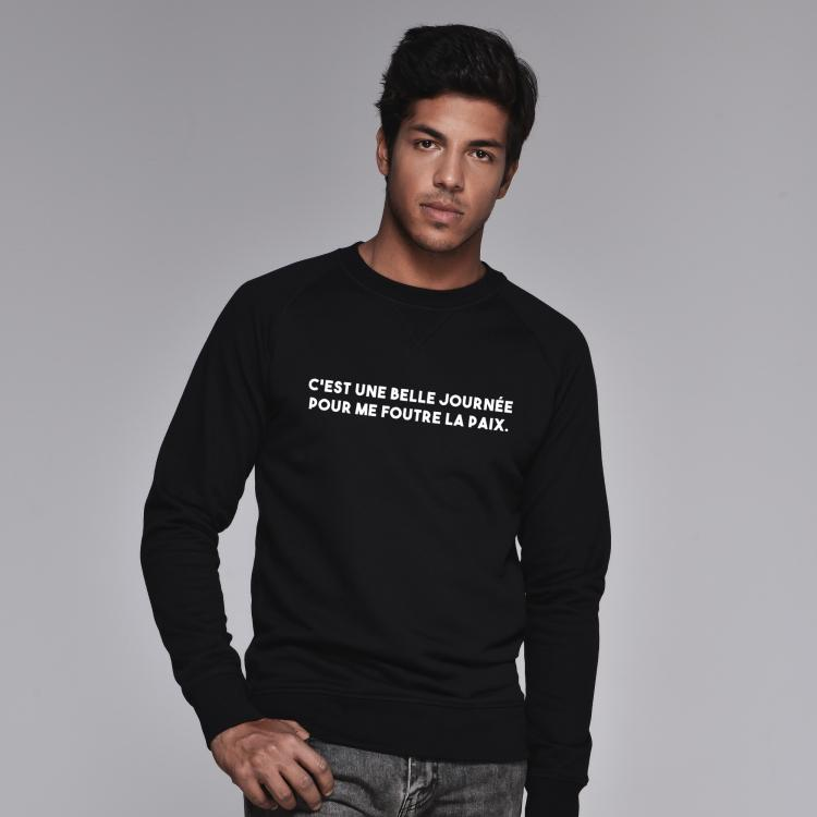 Sweatshirt C'est une belle journée - Homme - 1