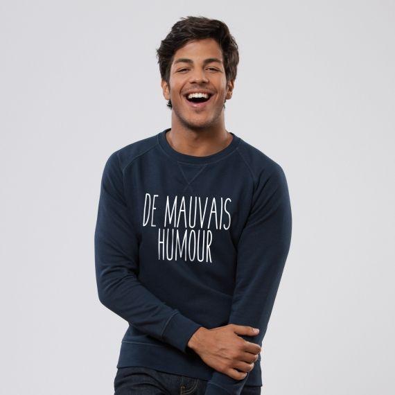 Sweat-shirt De mauvais humour - Homme