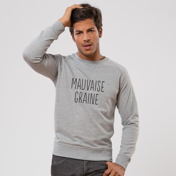 Sweat-shirt Mauvaise graine - Homme