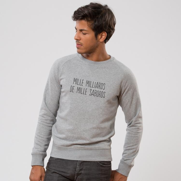 Sweatshirt Mille milliards de mille sabords - Homme - 1