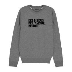 Sweatshirt Des bisous. De l'amour. Bordel. - Homme - 2
