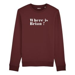Sweatshirt Where is Brian ? - Homme - 2