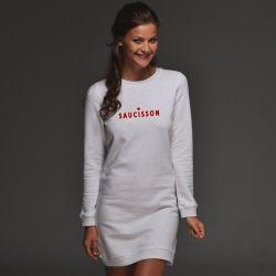 Robe sweat Saucisson - Femme - 1