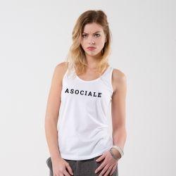 Débardeur Asociale - Femme - 1