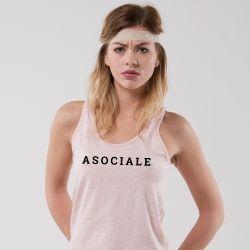 Débardeur Asociale - Femme - 2