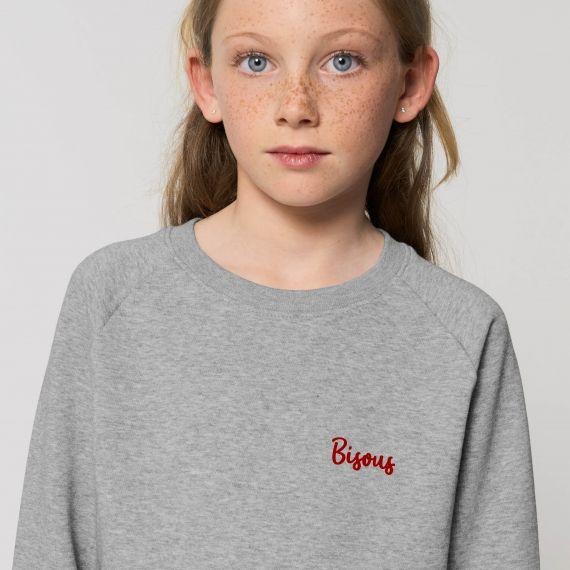 Sweat-shirt Enfant Bisous