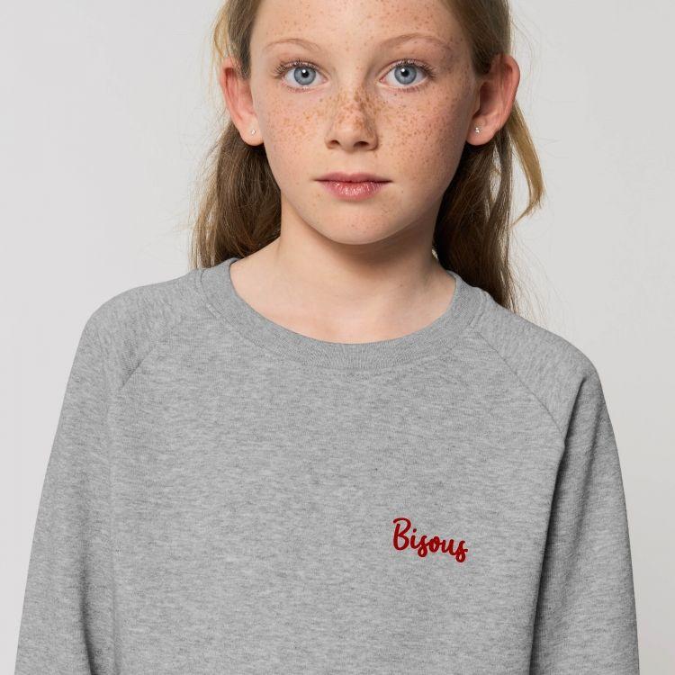 Sweat-shirt Enfant Bisous - 1