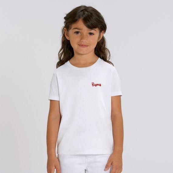 T-shirt Enfant Bisous