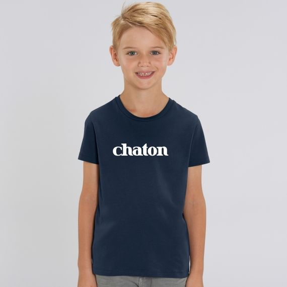T-shirt Enfant Chaton