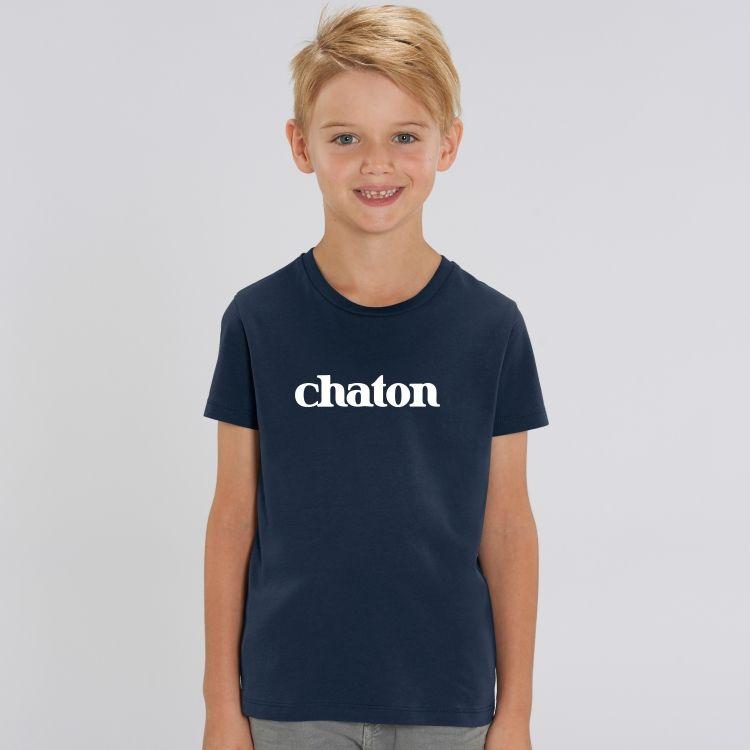 T-shirt Enfant Chaton - 1