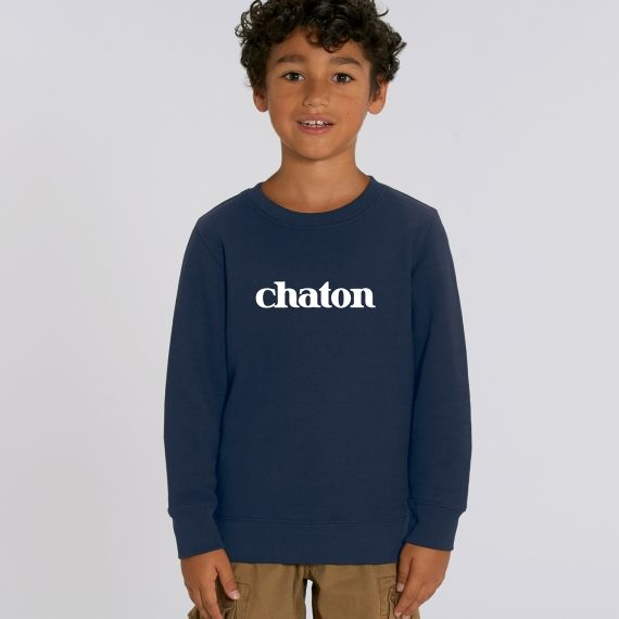 Sweat-shirt Enfant Chaton