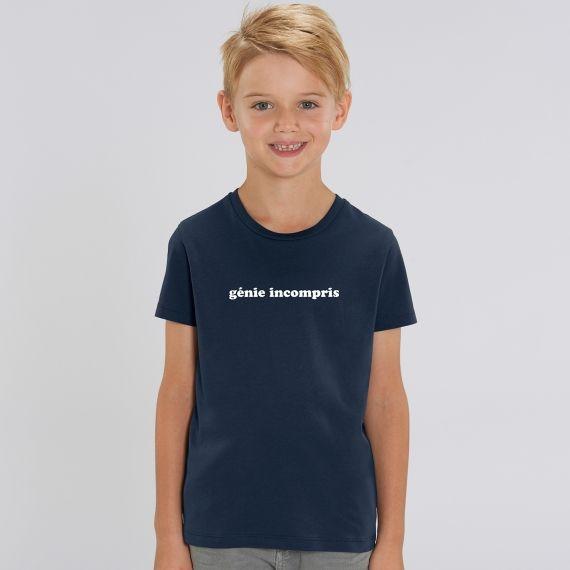 T-shirt Enfant Génie incompris