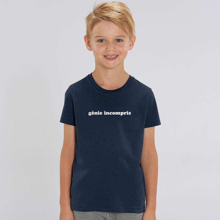 T-shirt Enfant Génie incompris - 1