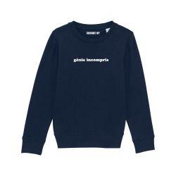 Sweat-shirt Enfant Génie incompris - 2