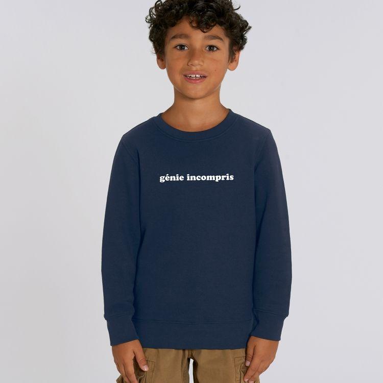 Sweat-shirt Enfant Génie incompris - 1